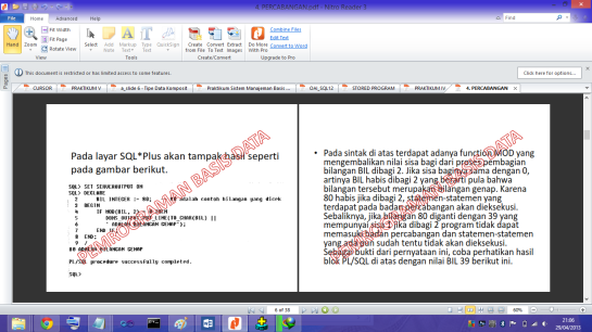 contoh pdf yang terkunci